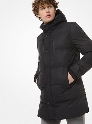 Michael Kors Quilted Hooded Puffer Coat