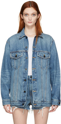 Alexander Wang Blue Denim Daze Jacket $450 thestylecure.com