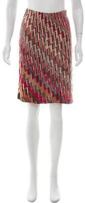 Missoni A-Line Knit Skirt