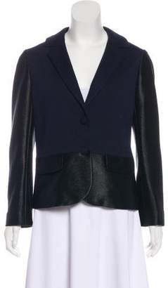 Tory Burch Notch-Lapel Knit Jacket