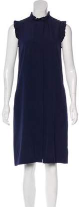 Vanessa Seward Silk Knee-Length Shift Dress