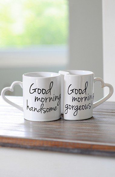 Cathy's Concepts 'Good Morning' Ceramic Coffee Mugs