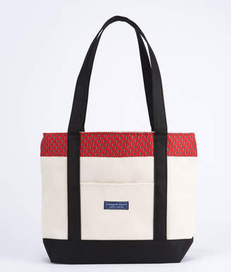 Vineyard Vines Atlanta Falcons Classic Tote