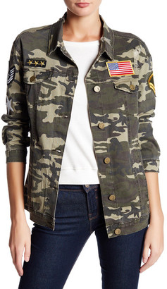 ASHLEY MASON Camo Patch Jacket $59 thestylecure.com