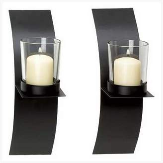 Gifts & Decor Modern Art Candle Holder Wall Sconce Plaque