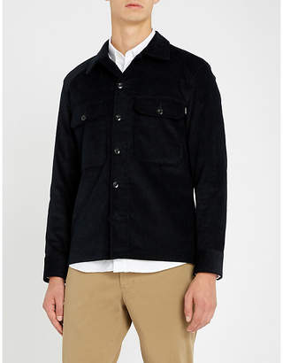 Sandro Stretch cotton-corduroy shirt