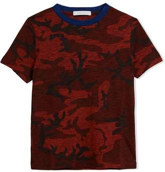 Burberry Camouflage Print Jersey T-shirt