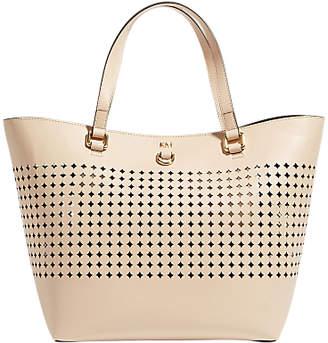 Karen Millen Perforated Large Tote Bag