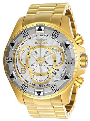 Invicta Men's 'Excursion' Quartz Two and Stainless Steel Casual Watch