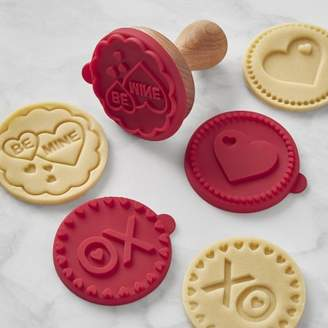 Williams-Sonoma Williams Sonoma Valentine Silicone Cookie Stamps, Set of 3