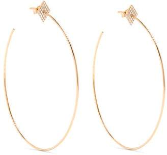 Diane Kordas Diamond & Rose Gold Earrings - Womens - Gold