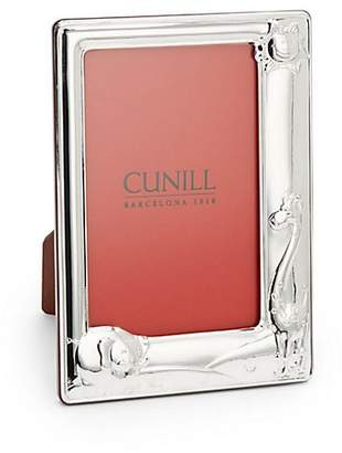 Cunill Baby Zoo Sterling Silver Photo Frame