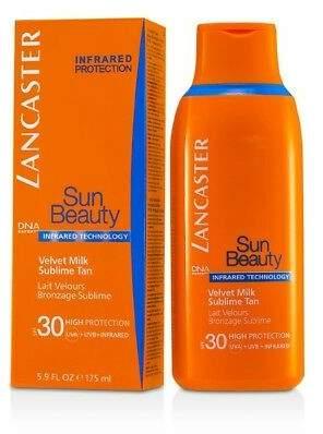 Lancaster NEW Sun Beauty Velvet Milk Sublime Tan SPF30 175ml Womens Skin Care