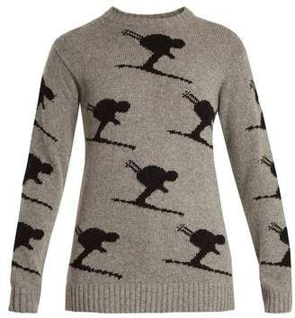 Fusalp - Carving Wool Blend Performance Sweater - Womens - Grey