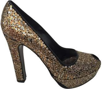 Alexander McQueen 100% Authentic Sequin Peep Toe Pumps