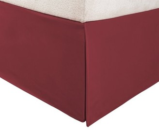Superior 1500 Series Microfiber Pleated, Wrinkle Resistant, Platform Solid Bed Skirt with 15 Inch Drop