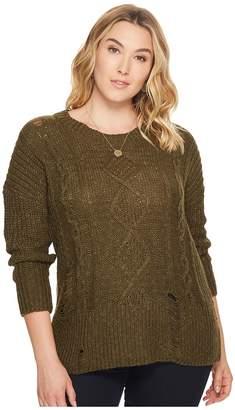 Lucky Brand Plus Size Portland Sweatshirt Women's Sweatshirt