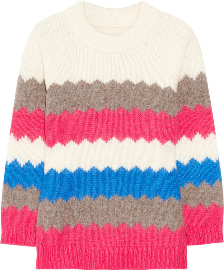 Marc by Marc Jacobs Nikolai wool-blend intarsia sweater