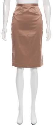 Just Cavalli Satin Pencil Skirt w/ Tags