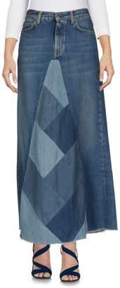 Saint Laurent Denim skirts
