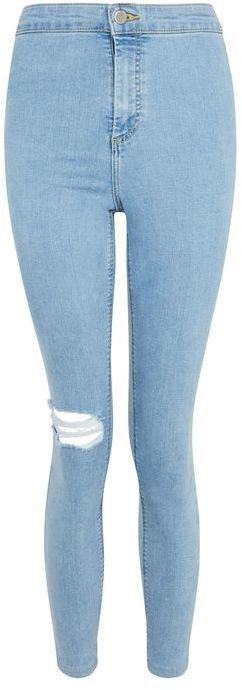 TopshopTopshop Moto one knee rip joni jeans