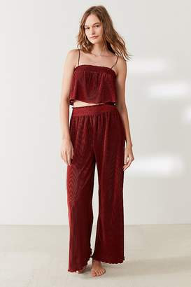 Out From Under Pretty Bird Plisse Pant