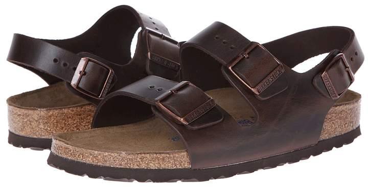 Birkenstock - Milano - Leather Soft Footbed Sandals