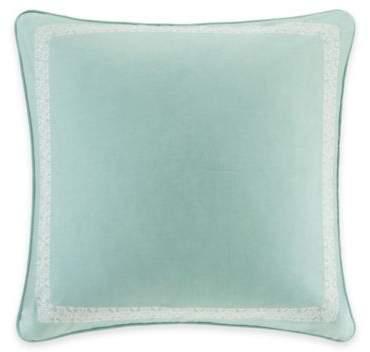 DesignTM Indira Medallion European Pillow Sham in Teal