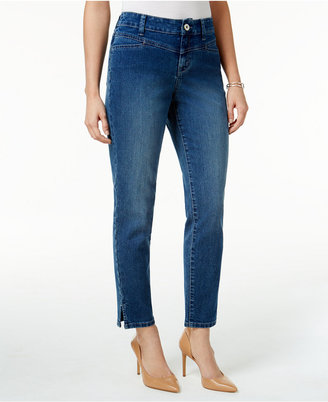 Style & Co Split-Hem Bliss Wash Skinny Jeans, Only at Macy's $49.50 thestylecure.com