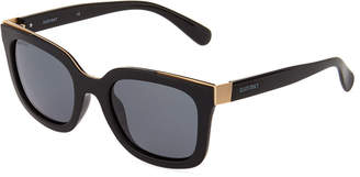 Ellen Tracy Plastic Square Sunglasses