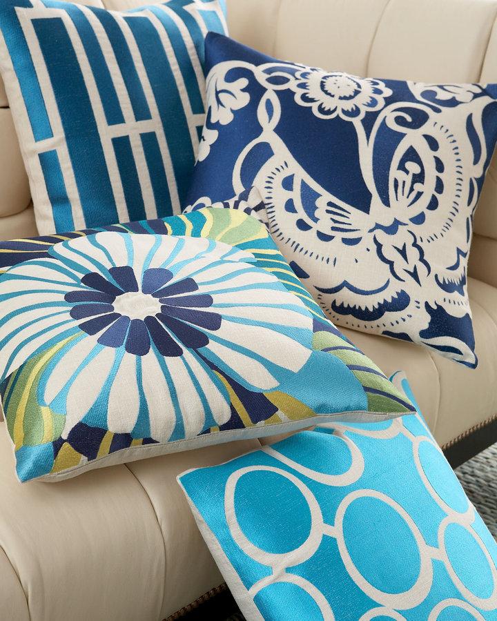 Trina Turk Embroidered Pillows