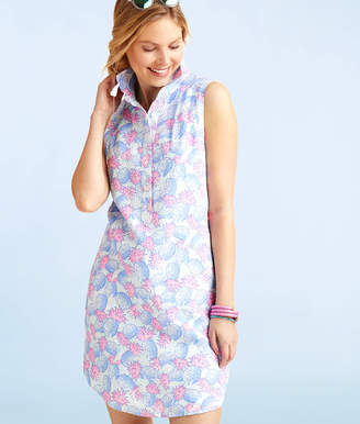 Vineyard Vines Pineapple Printed Shirt Dress