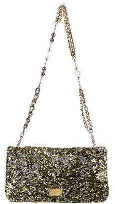 c9767d908 Dolce & Gabbana Miss Charles Sequined Bag