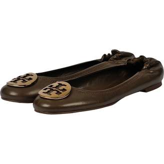 Tory Burch Leather Ballerines