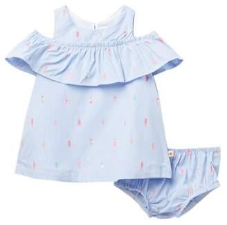 Kate Spade mini ice pops cold shoulder dress (Baby Girls)