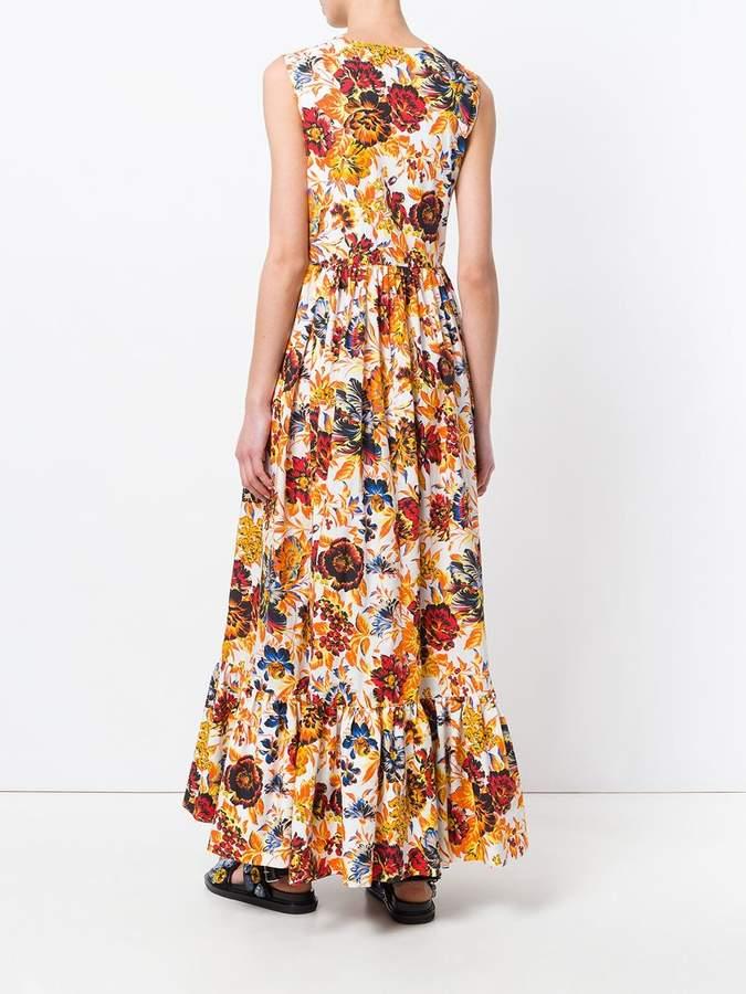 Msgm yellow dress