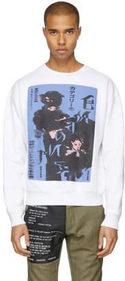 Enfants Riches Deprimes White Deranged Geisha Silhouette Sweatshirt