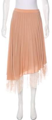 A.L.C. Pleated Knee-Length Skirt w/ Tags