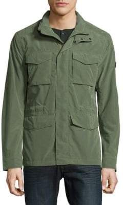 J. Lindeberg Long-Sleeve Outerwear Jacket