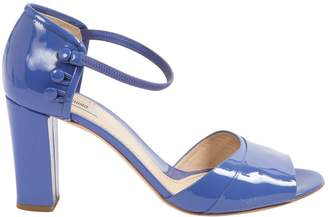 Moschino Blue Patent leather Sandals