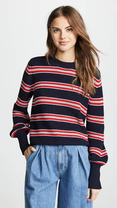 The Fifth Label Defense Stripe Knit Sweater