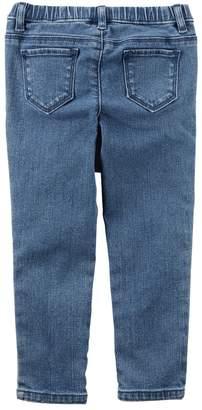 Carter's Girls 4-8 Pull-On Jeans