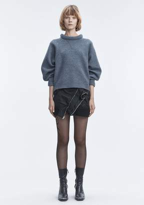 Alexander Wang BOILED WOOL SWEATER