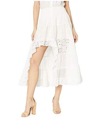 Scully Tiered Lace Skirt