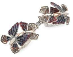 Valentino Butterfly Trio Ring