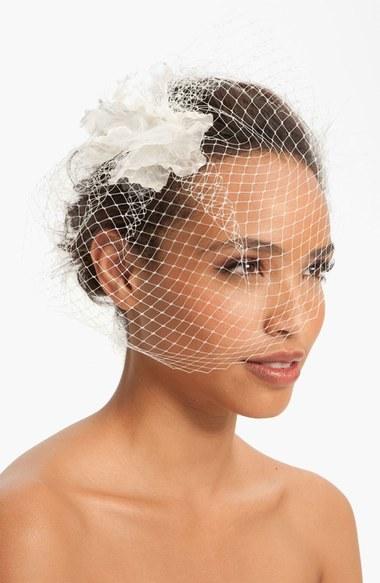 Nina 'Maize' Birdcage Veil