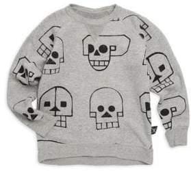 Nununu Baby's, Toddler's& Little Boy's Skull Robot Sweatshirt