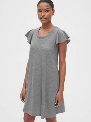 Gap Flutter Sleeve Swing Dress