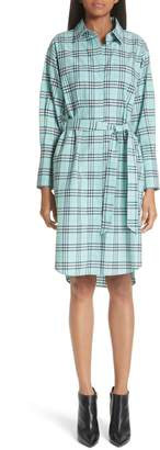 Burberry Isotto Tartan Shirtdress