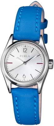 Furla Watches Women's Eva Stainless Steel & Leather Watch, 25mm